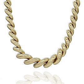 San Marcos Necklace in Gold