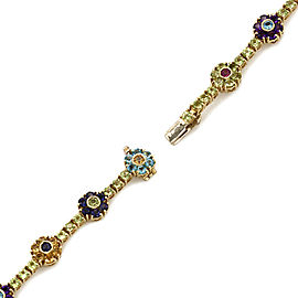 Pasquale Bruni Mixed Gem Bracelet in Gold