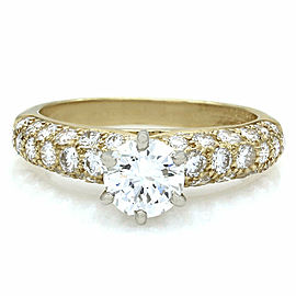 Van Cleef & Arpels Diamond Ring in Gold