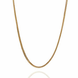 Box Chain Necklace in Gold