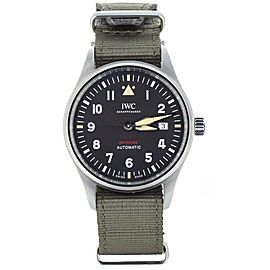 IWC Pilots Automatic Spitfire 39mm on Nato Strap ref: IW326801 Full Set