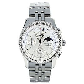 Breitling Bentley Mark VI Moonphase Platinum Bezel 42mm Ref: P19362