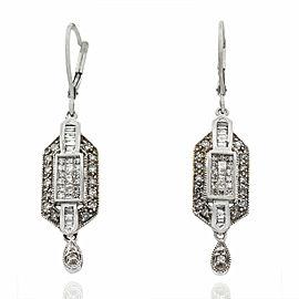 Diamond Dangle Earrings in Gold