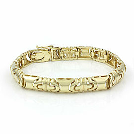 Bulgari Style Bracelet In 18K Yellow Gold