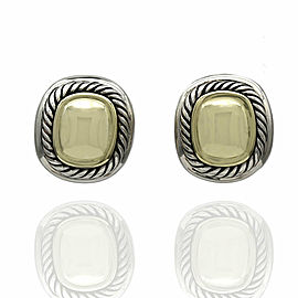 Yurman Albion Earrings in Silver and Gold