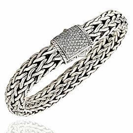 Hardy Diamond Chain Bracelet in Silver
