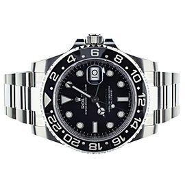 Rolex GMT Master II ref: 116710LN Black Dial 40mm Full Set