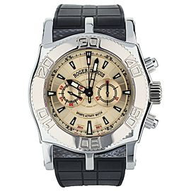 ROGER DUBUIS EASY DIVER CHRONOGRAPH SE46.56.9/12.53 BOX AND PAPERS
