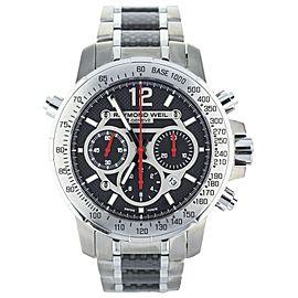 Raymond Weil Titanium Nabucco chronograph 46mm Ref: 7800