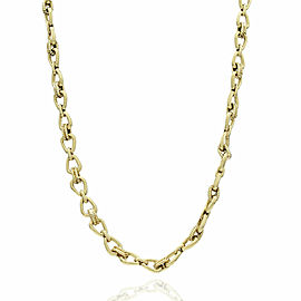 18KY Bow Chain Necklace