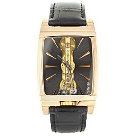 CORUM GOLDEN BRIDGE BLACK BATON 113.770.55/0001 GN01 Complete