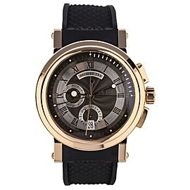 Breguet La Marine Rose Gold 42MM Watch Ref: 5827BR/Z2/5ZU