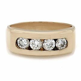 Gentlemans 14KY Diamond Ring