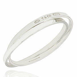 Tiffany & Co. 1837 Interlocking Bangle Bracelets SS