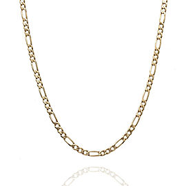 14KY Figaro Chain Necklace 20.5 IN
