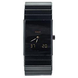 RADO DIASTAR TECH CERAMICS ANALOG/DIGITAL BOX NO PAPERS QTZ 193.0324.3