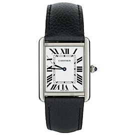 Cartier Tank Solo Quartz WSTA0030 31x24.4mm Full Set