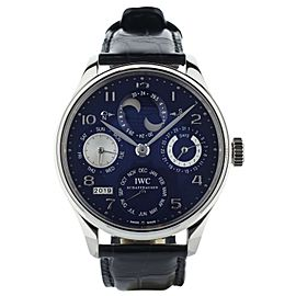 IWC Portuguiser Perpetual calendar IW503203 double moonphase Full Set