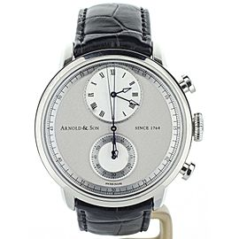"""Arnold & Son CTB """"True Beat Seconds"""" 44mm 1CHAS.S02A.C121S Complete set"""