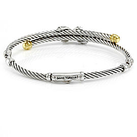 David Yurman Diamond X Bracelet