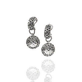 SS Curved Earrings with Removable Drops