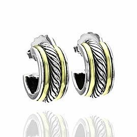 David Yurman Thoroughbred Hoop Earrings