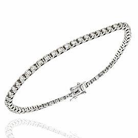 14KW Diamond Inline Bracelet