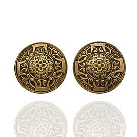 Joseff of Hollywood Shield Earrings