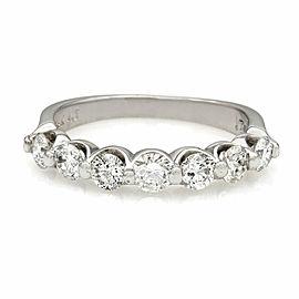 14KW 7 Stone Diamond Ring