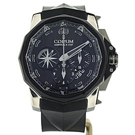 Corum Admirals Cup 48mm Chronograph Black Titan 116/350 Ref: 753.935.06/0371AN52