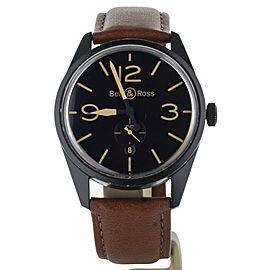 Bell & Ross BR-123 Vintage Heritage Black PVD