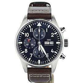 IWC Pilots Chronograph Edition Le Petit Prince 43MM Ref: IW377714 Full set