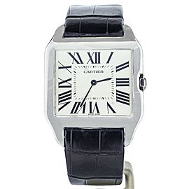 Cartier Santos Dumont White Gold 35x44mm 2651 Full Set