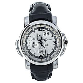 Ulysse Nardin Platinum GMT Perpetual Calendar Limited to 500 pieces 329-60