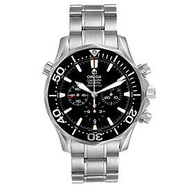Omega Seamaster Chronograph Black Dial Watch 2594.52.00