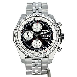 BREITLING FOR BENTLEY GT ON BRACELET STAINLESS STEEL 44MM REF: A13363