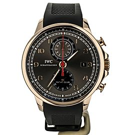 IWC Portuguese Yacht Club Chronograph Rose Gold 45mm IW390209 Full Set