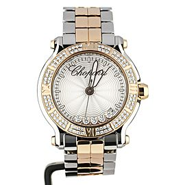 Chopard Happy Sport Rose Gold and Steel Bracelet 278551-6003 Full Set