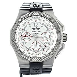 BREITLING FOR BENTLEY GMT TITANIUM B04 COMPLETE SET REF: EB0433