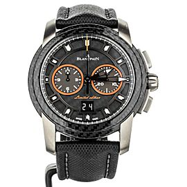 BLANCPAIN L-EVOLUTION R CHRONO FB CARBON FIBER 43.5MM R885F-1203-52B FULL SET