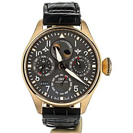 IWC BIG PILOT PERPETUAL CALENDAR IN 18K ROSE GOLD COMPLETE SET REF: IW502638