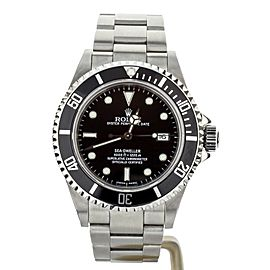 Rolex Sea Dweller 4000 Stainless Steel Black Dial 40mm 16600 Complete set