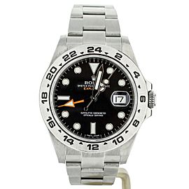 ROLEX EXPLORER II 42MM STAINLESS STEEL BLACK DIAL REF: 216570