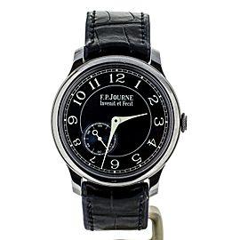 F.P. Journe Chronometre Bleu Tantalum 39mm Complete set