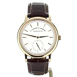 A Lange and Sohne Saxonia Automatic 38.5mm 380.032 Complete set