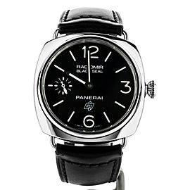 Panerai Radiomir Black Seal Logo 45mm Manual Wind PAM380