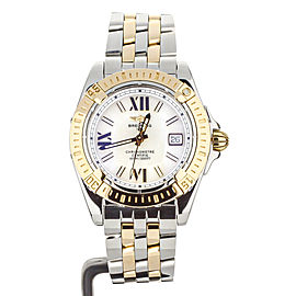 Breitling Ladies cockpit Yellow Gold and Steel 32mm C71356