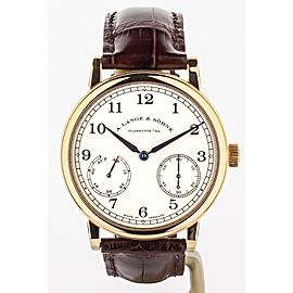 A. Lange and Sohne 1815 up/down Rose Gold 39mm 234.032 Complete Set