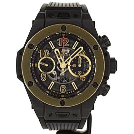 Hublot Big Bang 45MM Unico Magic Gold Ceremic. Ref: 411.CM.1138.RX Full Set