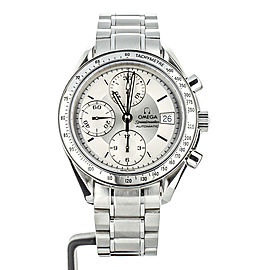 Omega Speedmaster Date Automatic Silver Dial 39mm ref 35133000